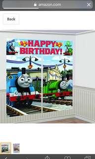 Thomas & trains birthday party set