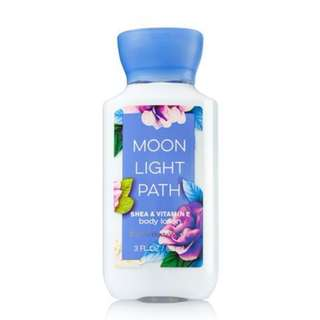 Bath & Body Works Moon Light Path Shea & Vitamin E Body Lotion For Women
