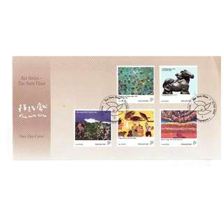 FDC #5-1     Art Series Tan Swee Hian