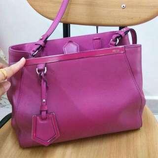 Fendi bag purple pink original