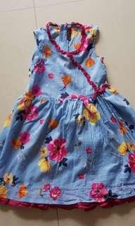 Catimini floral dress size 5