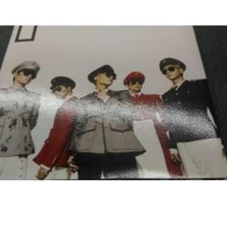 SHINee第五張迷你專輯Everybody(韓國進口版)