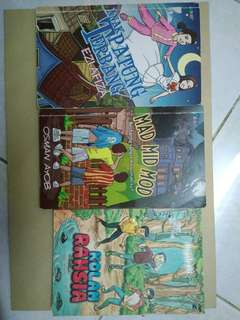 Kids story book 3 pcs (include pos)