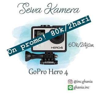 Sewa Kamera Gopro Hero 4