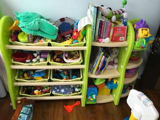 Toy storage/ Toy shelves/ Book shelves