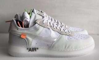 Off-White X Nike Air Force