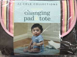 JJ Cole Changing Pad and Tote