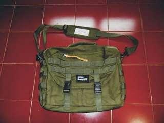 Slingbag green army maternal disaster rafhs