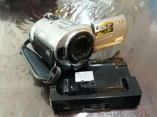 Original Sony Digital Video Camera Recorder Model No. DCR-SR62E