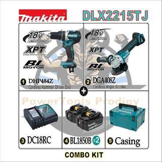 [NEW] MAKITA DLX2215TJ 18V COMBO KIT