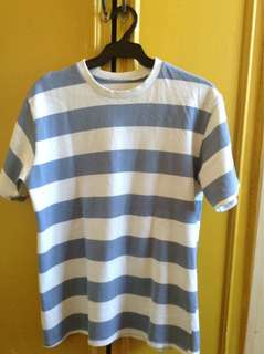 Stripes Tee for laag