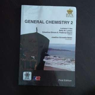 General Chemistry 2 (K-12)
