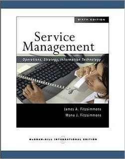 Service Management Sixth Edition