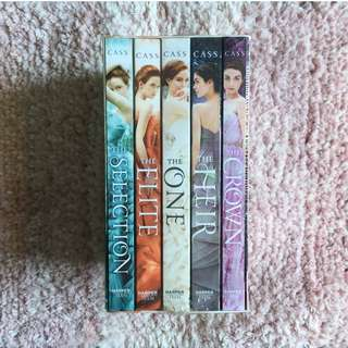 The Selection Box Set – Kiera Cass