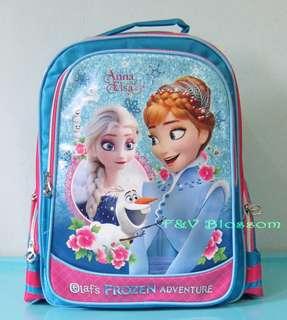 Tas Sekolah Anak Ransel Backpack SD Kantong OLAF FROZEN ADVENTURE