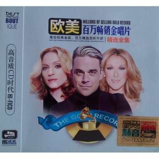 Millions Of Selling Gold Record Unforgettable Classic Songs 欧美百万畅销金唱片 精选全集 3CD (Imported)