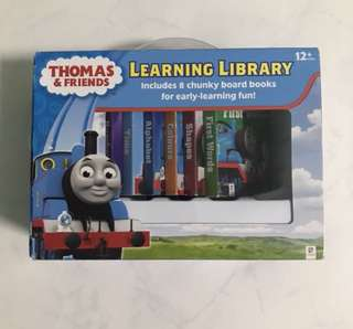 Thomas and Friends Books Learning ABC Colours First Words