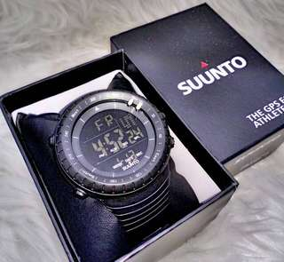 Black Suunto Watch