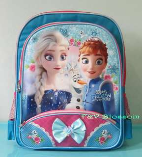 Tas Sekolah Anak Ransel Backpack SD Pita OLAF FROZEN ADVENTURE