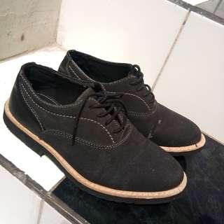 Black Casual pantofel Shoes