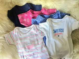 Carter's Onesies (sold as set)