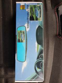 Vehicle Car camera DVR rear mirror