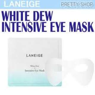Laneige White Dew Insentive Eye Mask