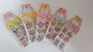 Kid oil water special stickers My Little Pony MLP Princess