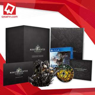 PS4 R3 Monster Hunter World Collector's Edition