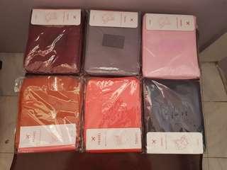 Plain makeup pouch travel organizer