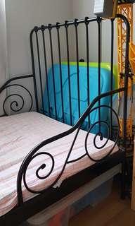 Ikea Extendable Children Bed (Black)