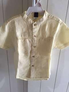 Baby Gap Yellow Shirt