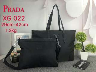 Prada Tote Bag 2 in 1 Black