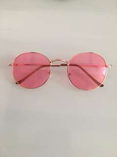 Sunset sunnies pink lens