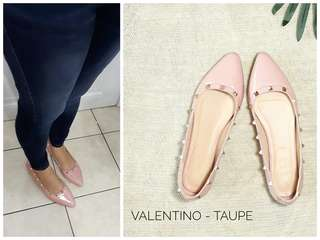 Valentino Inspired Pointed Flat Shoes