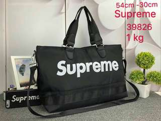 Supreme Travel Bag Black