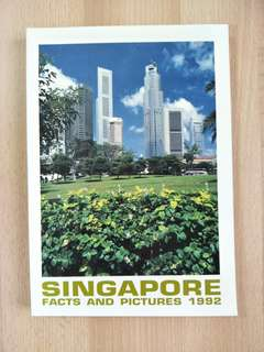 Singapore Facts And Pictures 1992 Book