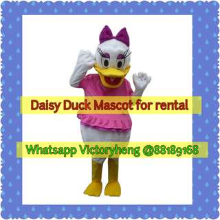 Daisy Duck Mascot for rental