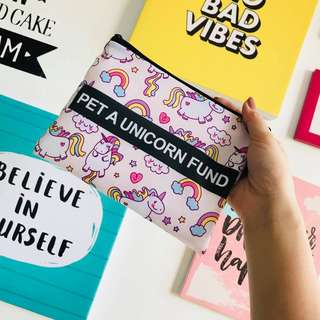 Graphic Pouch 006