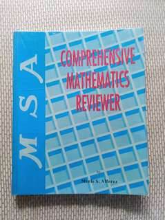 MSA Comprehensive Mathematics Reviewer