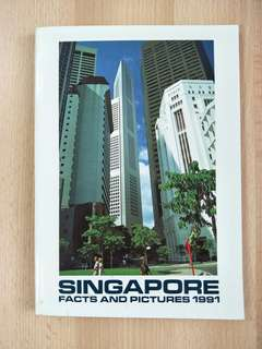 Singapore Facts And Pictures 1991 Book