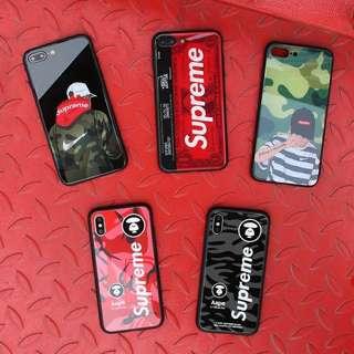 Supreme 手機殼iPhone 6/6s/PLUS/7/8/PLUS