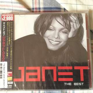 Janet Jackson the best(Japan edition) 2CD