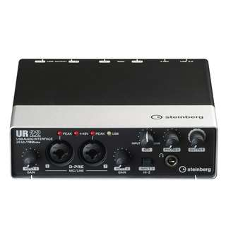 Yamaha Steinberg UR22 MKII 2-Channel USB Interface (UR-22 MK II)