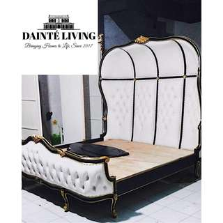 French   Simone Canopy Baroque Bed Frame   Bespoke