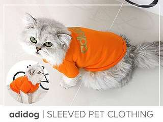 Adidog Sleeved Pet Clothing