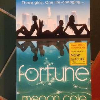Fortune by Megan Cole (English novel) #letgo4raya