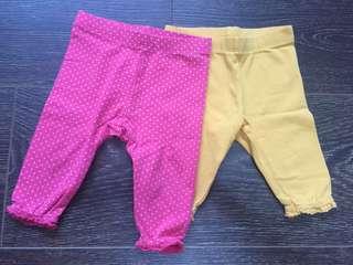 Mothercare Leggings / Pants for Newborn Baby Girls