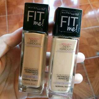 Maybelline FIT Me! Dewy+Smooth