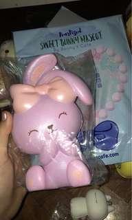 Pearlized Mascot Purple Squishy